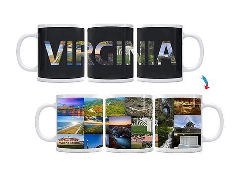 State of Virginia ThermoH Exray Mug