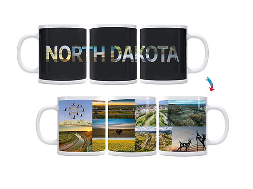 State of North Dakota ThermoH Exray Mug