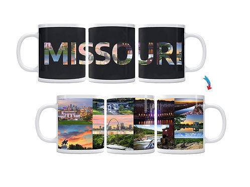State of Missouri ThermoH Exray Mug