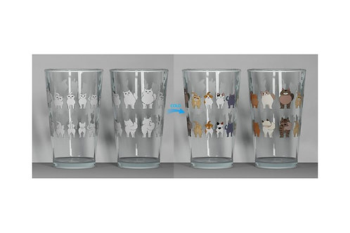 Cheeky Cats ThermoC Logo Pint Glass