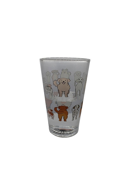 Cheeky Dogs ThermoC Logo Pint Glass