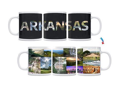 State of Arkansas ThermoH Exray Mug