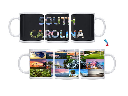 State of South Carolina ThermoH Exray Mug