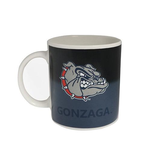 gonzaga university bulldogs logo zags color changing coffee mug heat sensitive hot