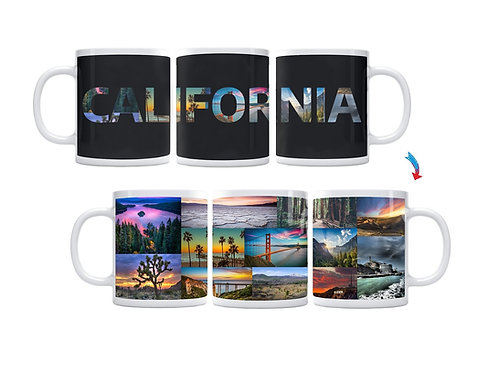 State of California ThermoH Exray Mug