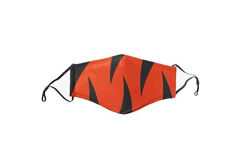 Bengals Stripes Face Mask