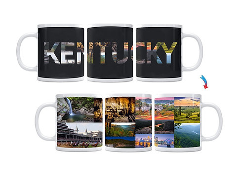 State of Kentucky ThermoH Exray Mug