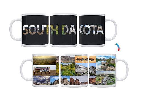 State of South Dakota ThermoH Exray Mug