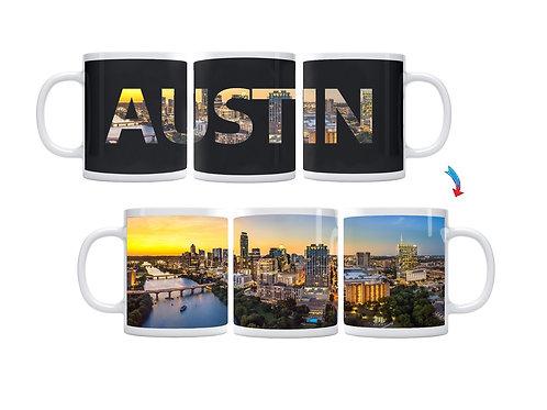 Austin Skyline ThermoH Exray Coffee Mug