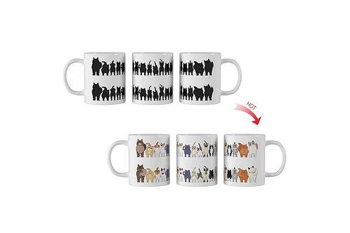 Cheeky Cats ThermoH Logo Mug