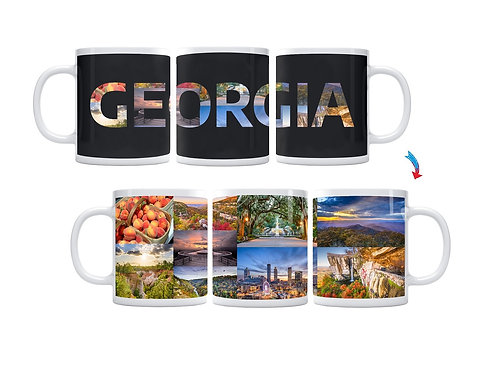 State of Georgia ThermoH Exray Mug