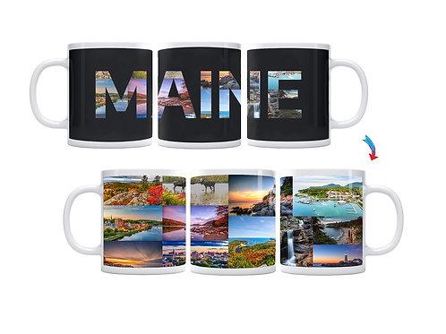 State of Maine ThermoH Exray Mug