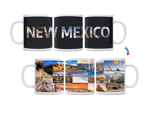 State of New Mexico ThermoH Exray Mug
