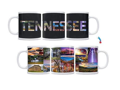 State of Tennessee ThermoH Exray Mug