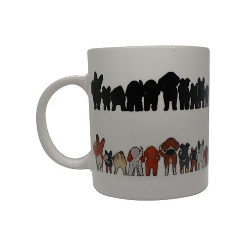 Cheeky Dogs ThermoH Logo Mug