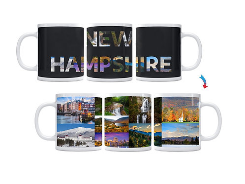 State of New Hampshire ThermoH Exray Mug
