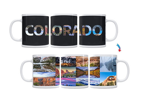 State of Colorado ThermoH Exray Mug