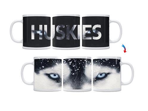 Huskies Eyes ThermoH Exray Mug