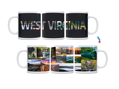 State of West Virginia ThermoH Exray Mug