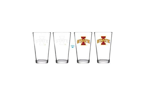 Iowa State University ThermoC Logo Pint Glass