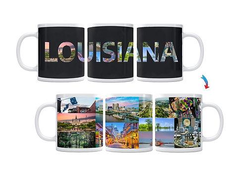 State of Louisiana ThermoH Exray Mug