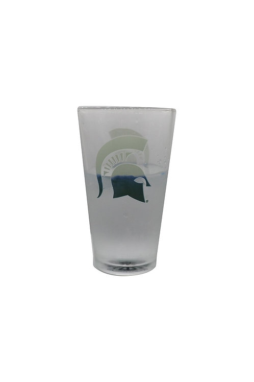 Michigan State ThermoC Logo Pint Glass