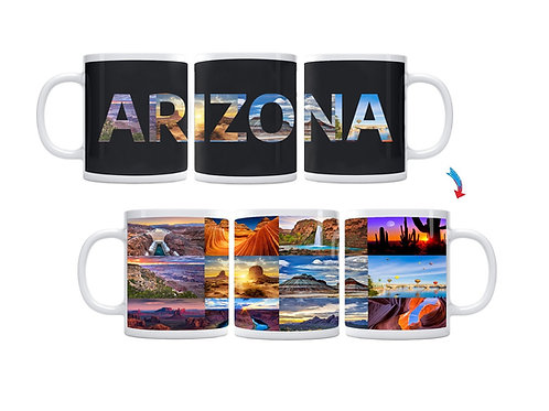 State of Arizona ThermoH Exray Mug