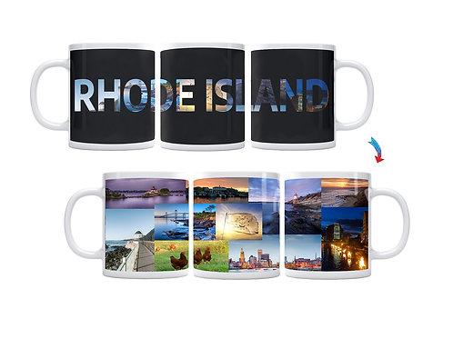 State of Rhode Island ThermoH Exray Mug