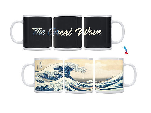 The Great Wave ThermoH Exray Mug