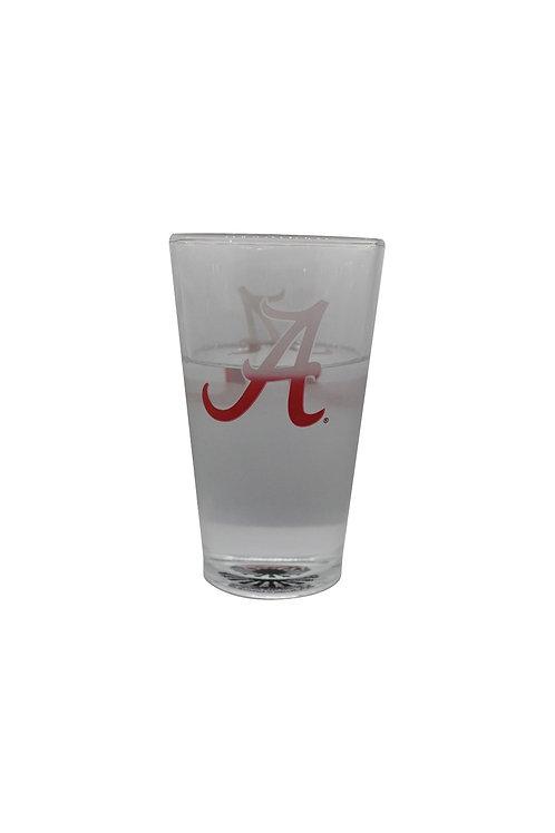 University of Alabama ThermoC Logo Pint Glass