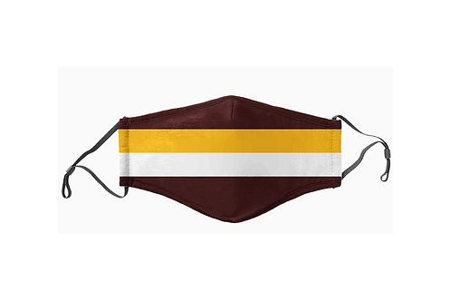Maroon & Gold Team Face Mask