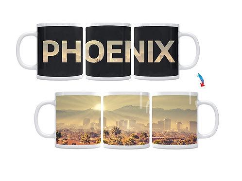 Phoenix Skyline ThermoH Exray Coffee Mug