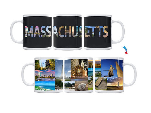 State of Massachusetts ThermoH Exray Mug