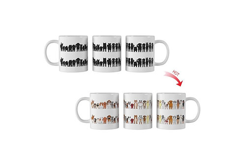 Cheeky Dogs ThermoH Logo Mug