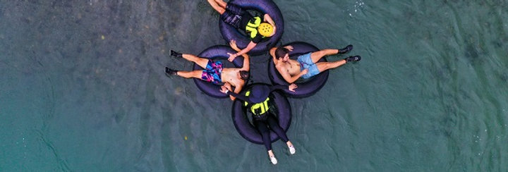 #17 Tube rafting - recommended for families