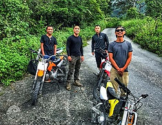 14 motocross (dirt bike) in Ruisui Mount