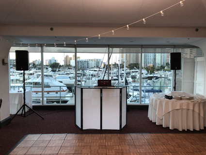 Private Event at Marina Jacks sarasota DJ services