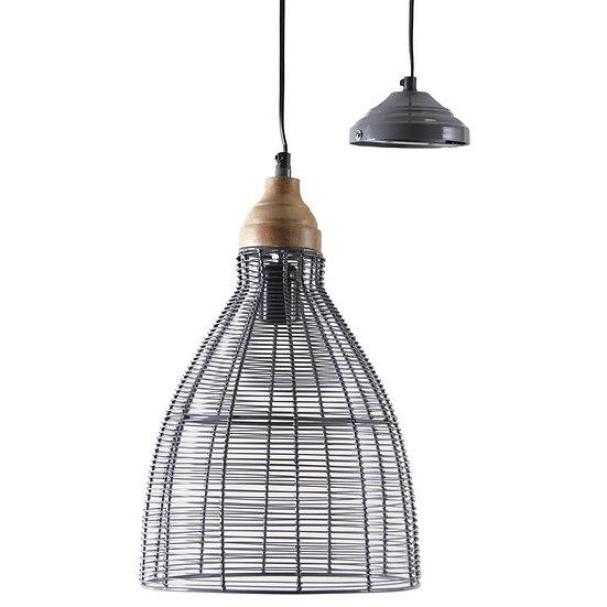 Lampe suspension en métal