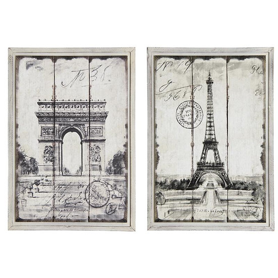 Tableau en bois Paris