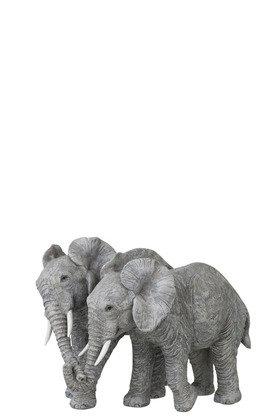Eléphant couple