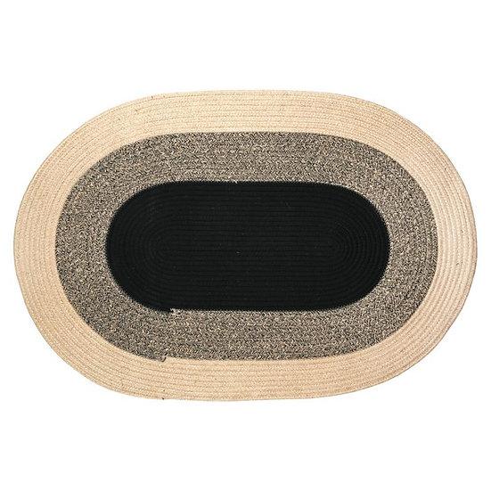 Tapis oval