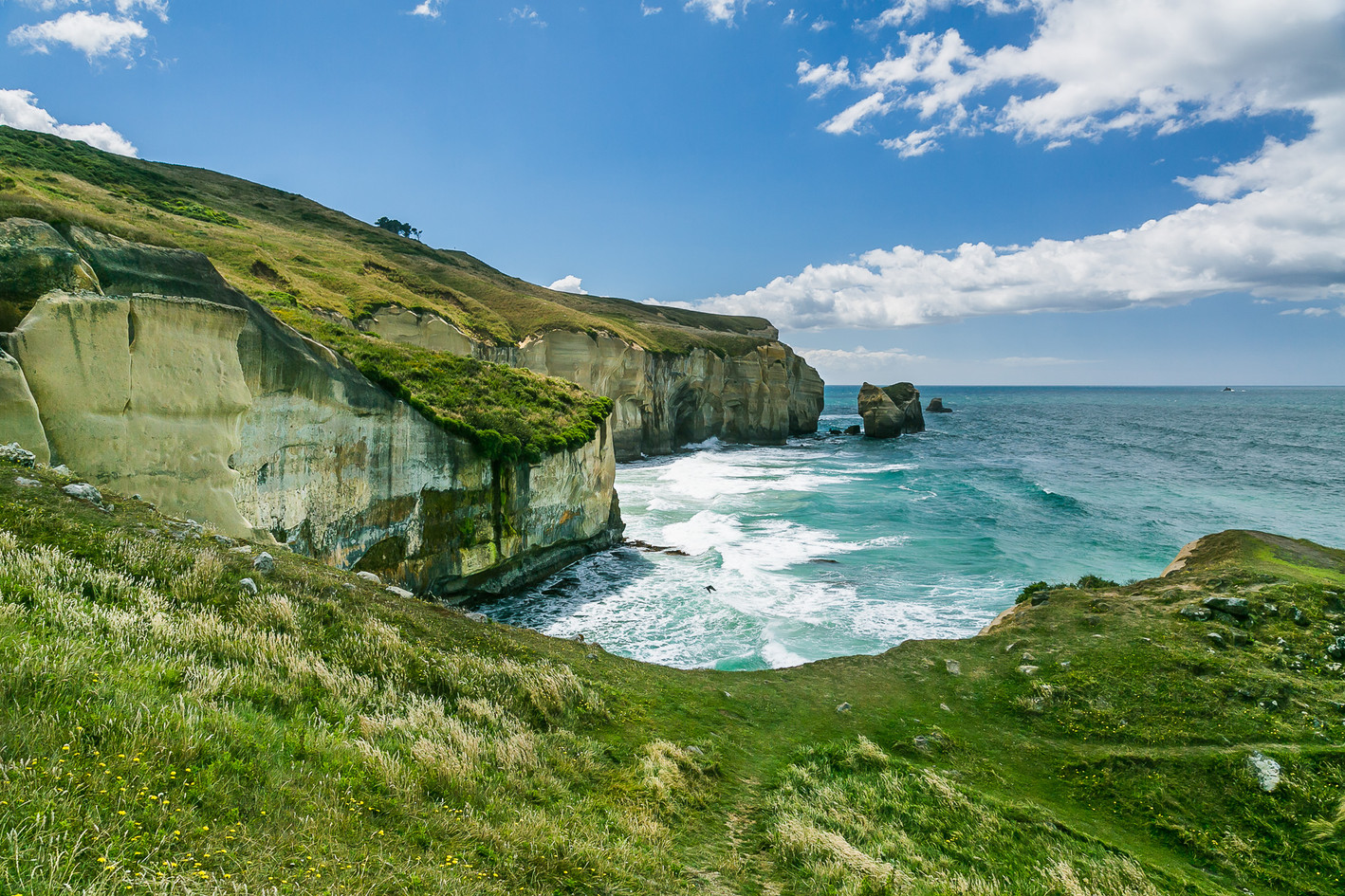 Tunnel Beach New Zealand