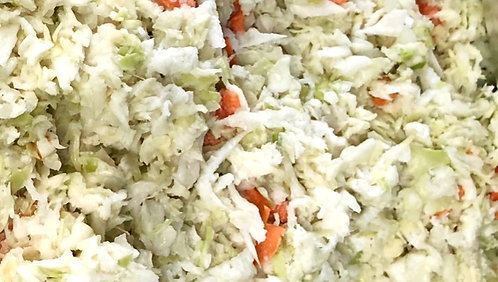 CREAMY COLE SLAW, PURCHASE LIMITED TO MONMOUTH WOODS ONLY!