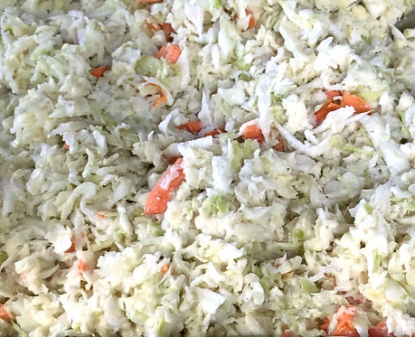 CREAMY COLE SLAW, PURCHASE LIMITED TO HUNTERDON CREEKSIDE ONLY!