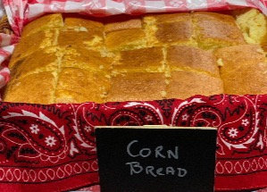 6 PIECES SOUTHERN STYLE CORN BREAD,PURCHASe LIMITED TO HUNTERDON CREEKSIDE ONLY