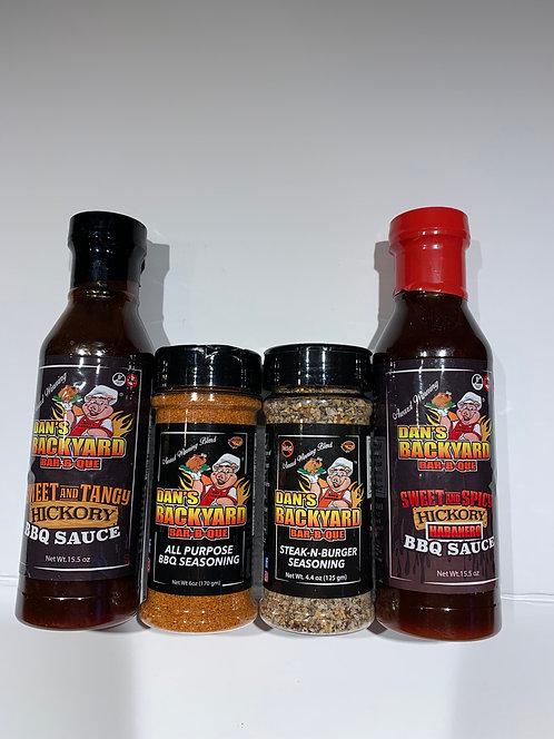 Dan's BBQ Condiment Pack