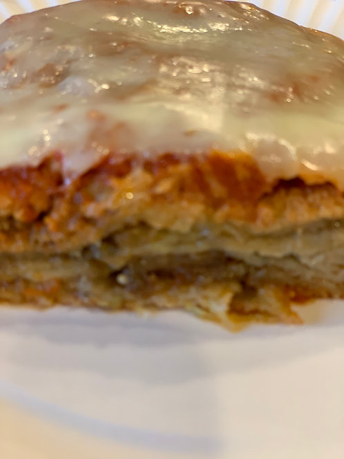 EGGPLANT PARMESAN, PURCHASE LIMITED TO MONMOUTH WOODS ONLY