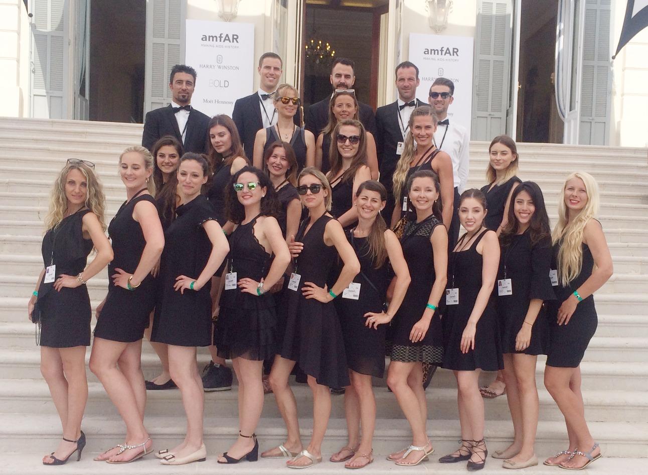 amfAR gala team 2017