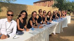 DiCaprio Host and Hostess Team
