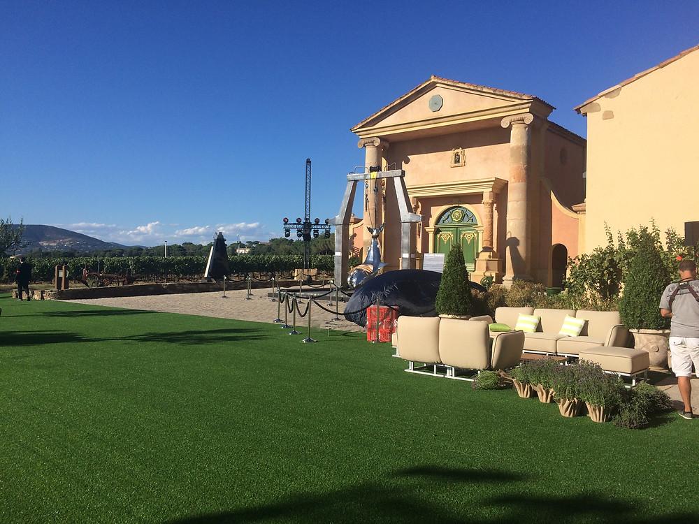 Domaine Bertaud Belieu, location of the Leonardo DiCaprio Foundation Galas in St Tropez